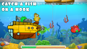 Toddler learning fishing games - hook fishing