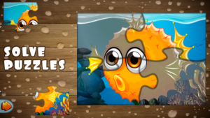 Toddler learning fishing games - puzzle games